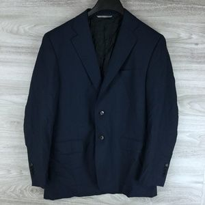 Canali Giacca Wool Suit Jacket